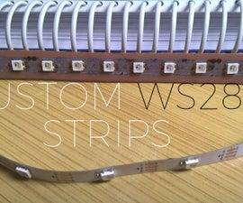 Custom Addressable RGB LED Strip   WS2812B