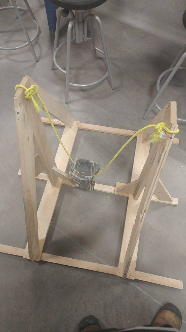 Picture of Final Step: Attach Bungees to Frame