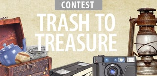Trash to Treasure Contest 2017