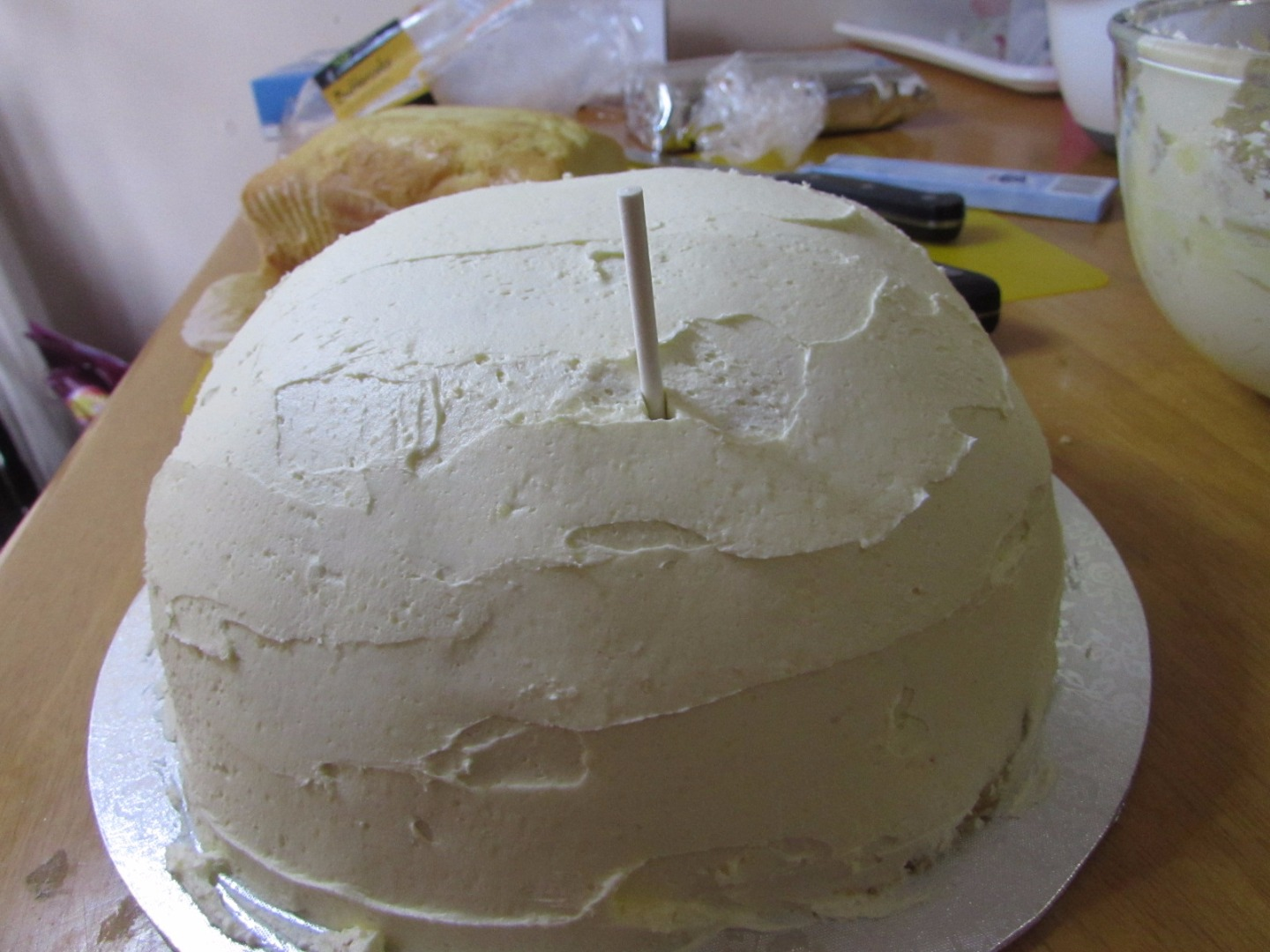 Picture of Frosting and Building the Face
