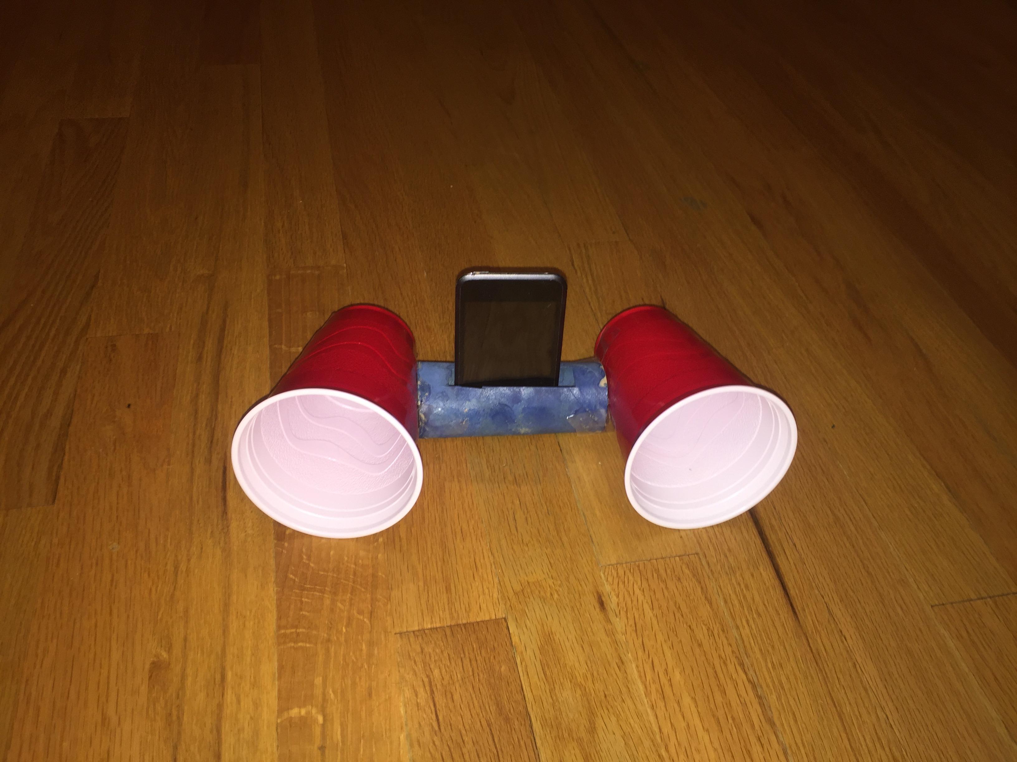 Picture of DIY Super Loud Speaker!