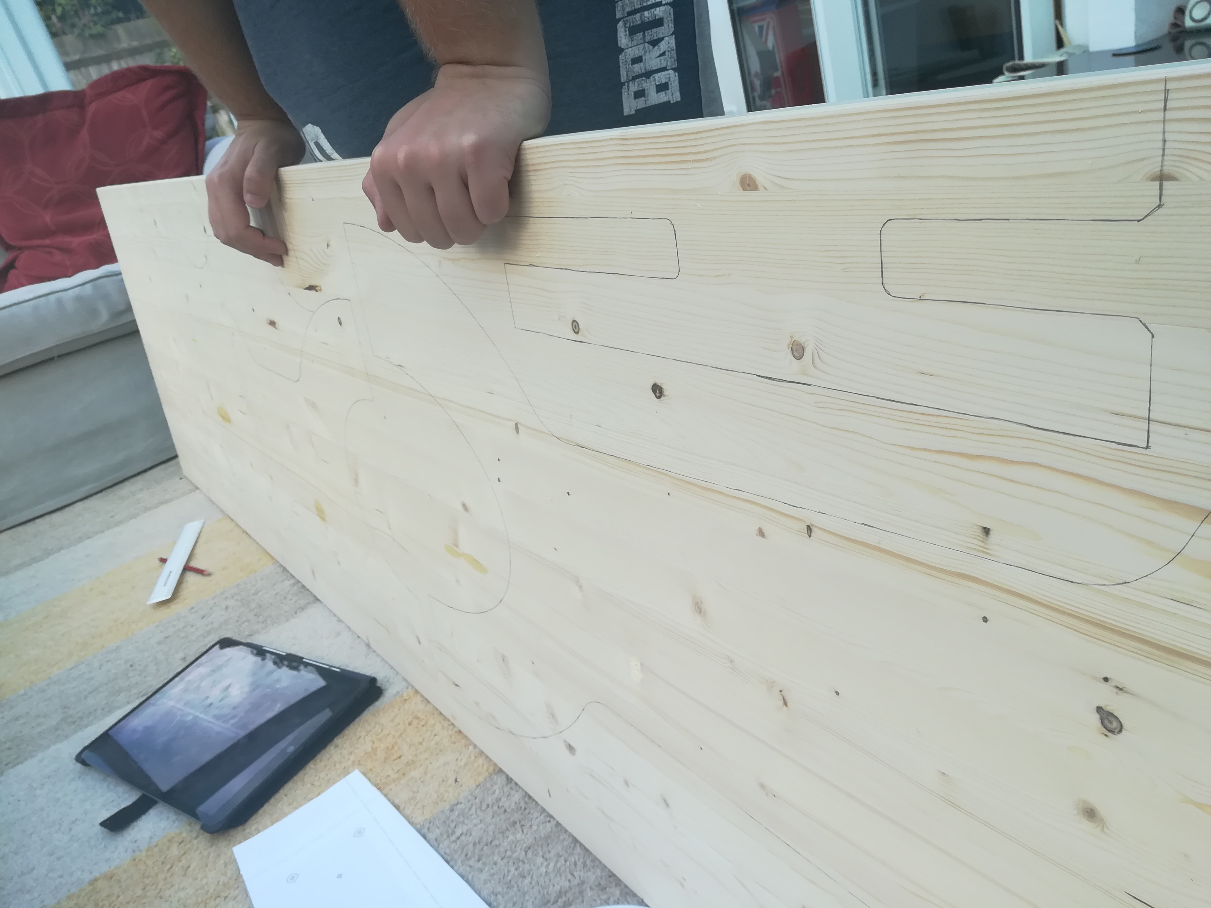 Picture of Cutting Out the Pieces