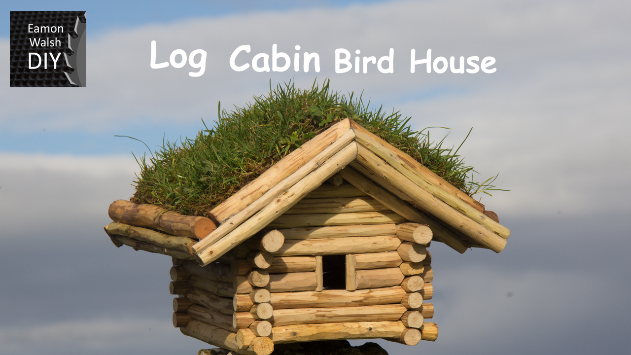 Picture of DIY Log Cabin Bird House
