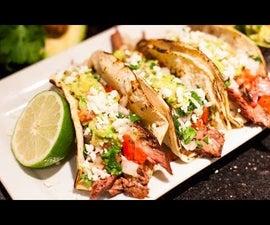 Carne Asada Tacos & Guac