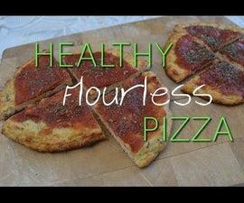 Healthy Flourless Pizza
