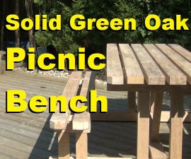 Make a 10 Seater Picnic Table