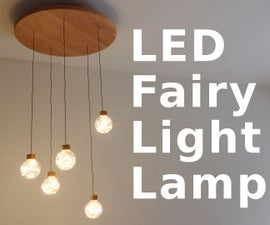 LED Fairy Light Chandelier