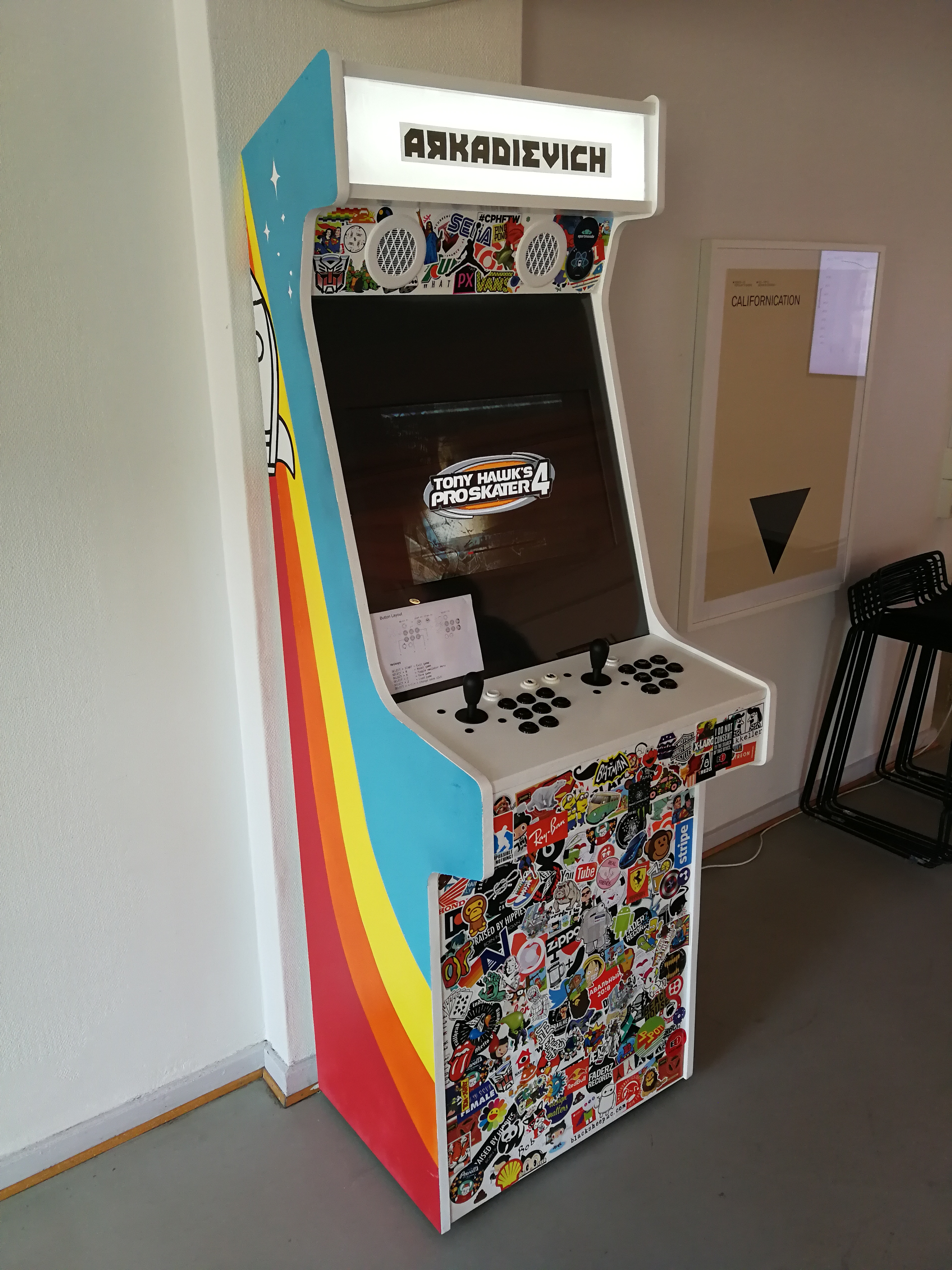 Picture of Office Arcade Machine