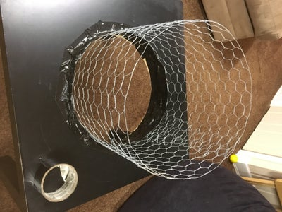 Use Duck-tape to Secure the Wire to the Table