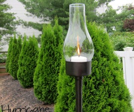 Tuna Can Outdoor Lantern
