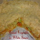 Baked Vegetable in white sauce