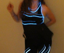 Sound Reactive Light Costume