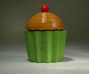 Cupcake Box (3D Printed)