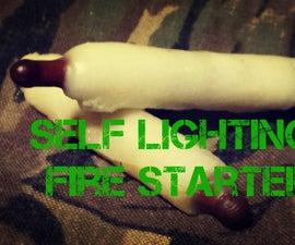 self lighting fire starters