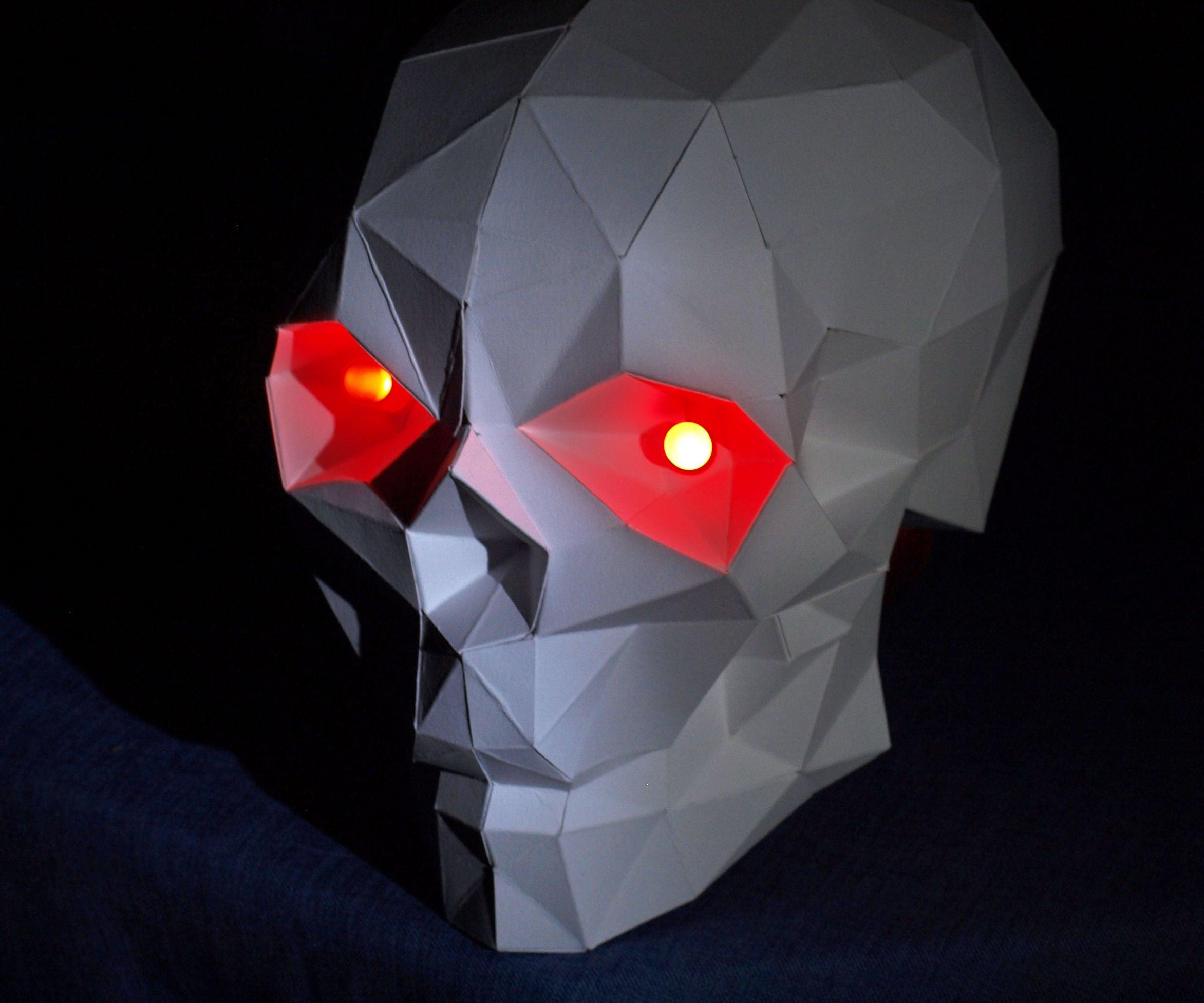 Origami Skull | 1953x2344