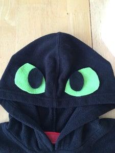 Hoodie, Eyes, Spikes