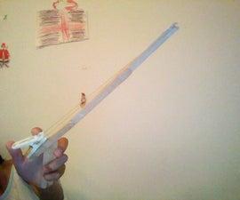 popsicle stick rubber band gun