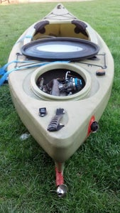 Gas Powered Kayak