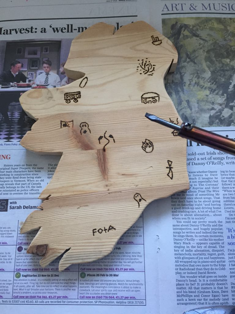 Picture of Wood Burning/Pyrography