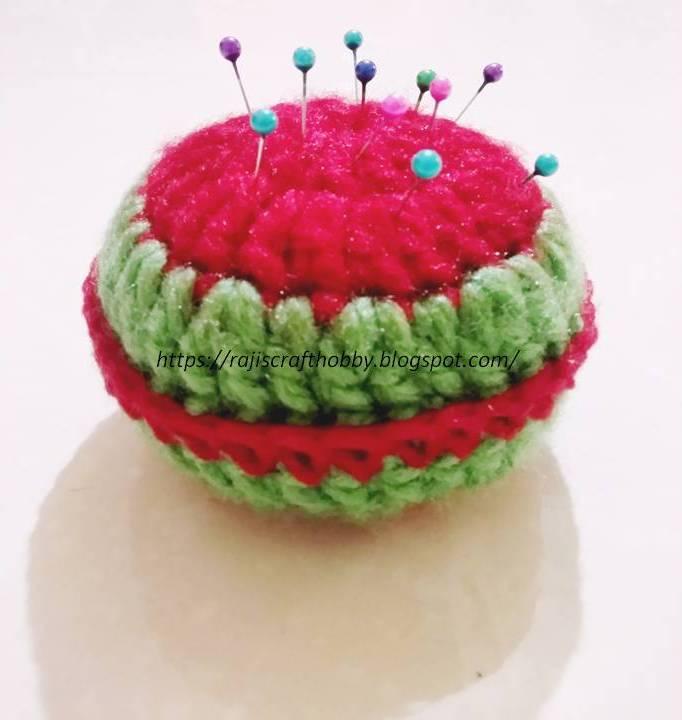Picture of Yummy Watermelon Pincushion