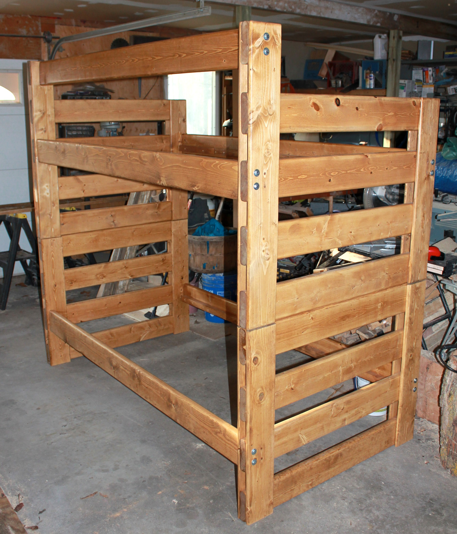 Picture of Easy, Modular, Pine Bunkbeds