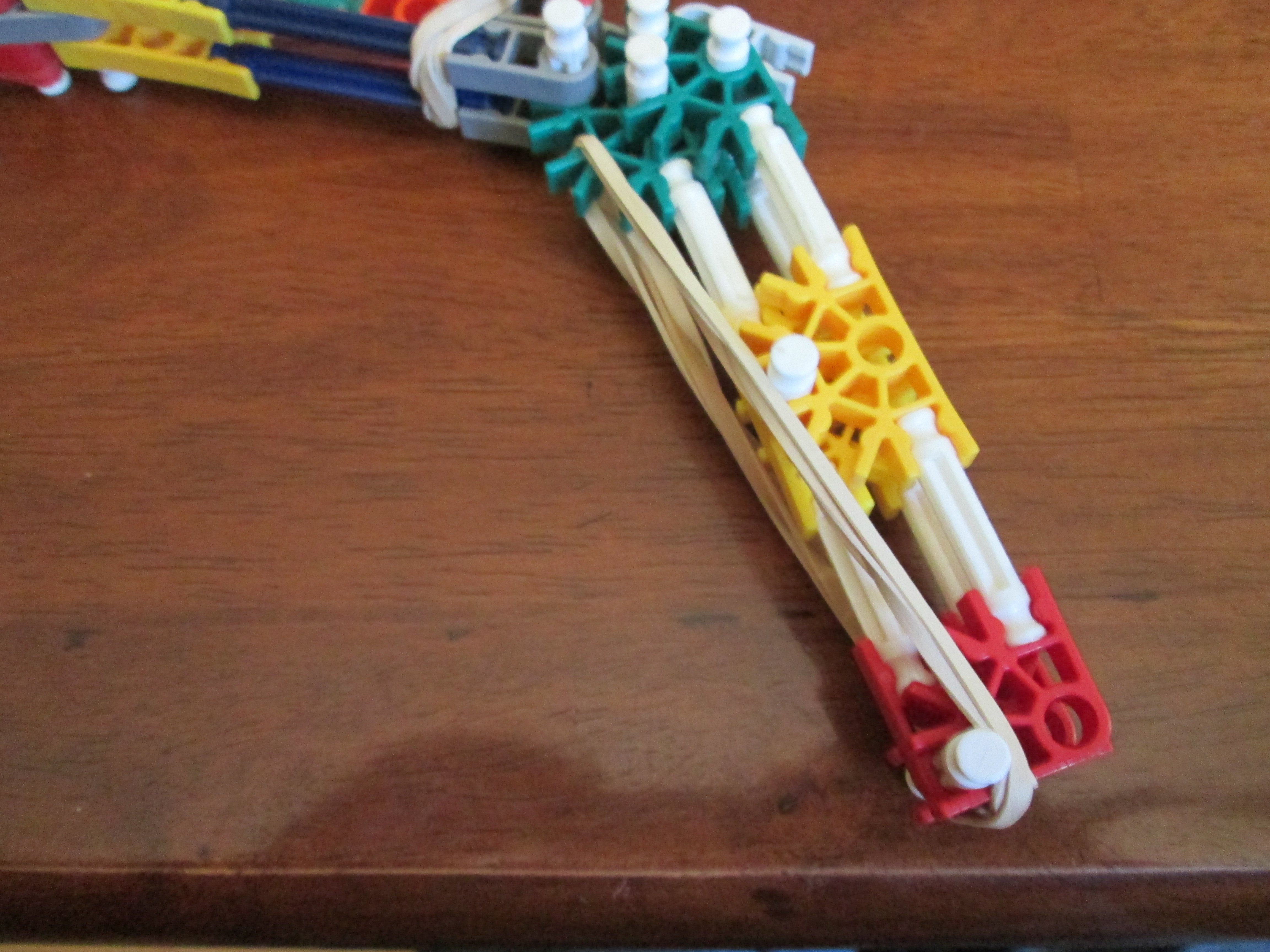 Picture of Fold Up Knex Rubber Band Gun