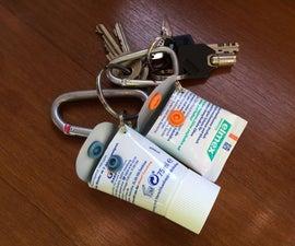 Mini Keyring Safe