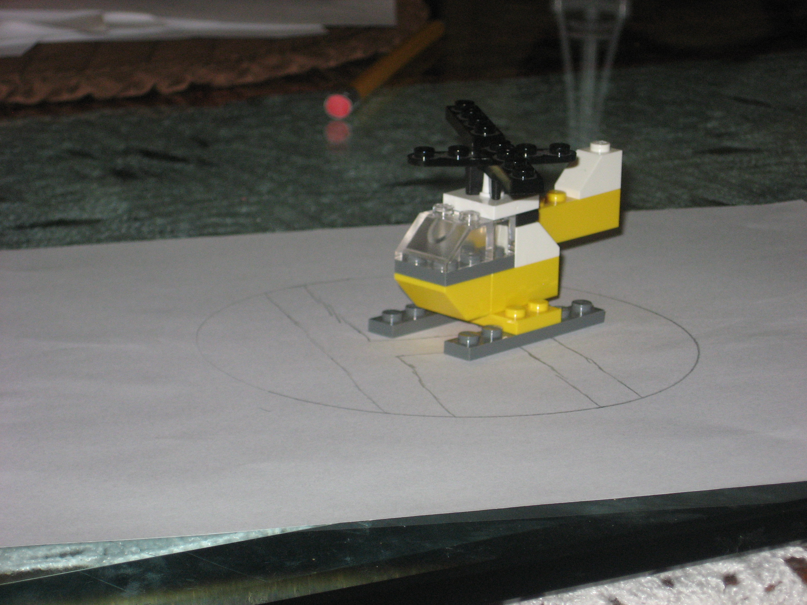 Picture of Mini Lego Helocopter