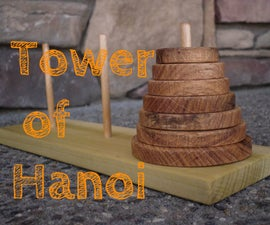 Make a Tower of Hanoi Puzzle Game