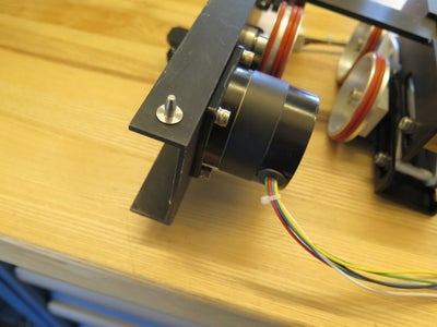 Step 4: Place and Connect the Rotary Attachment
