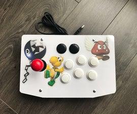 Arcade Stick Custom Build Simple DIY