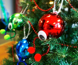 How to Make a Glowbe Ornament