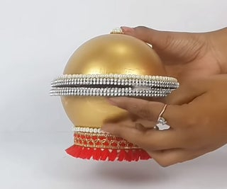 How to Make a DIY Jewelry Storage Box From Plastic Ball?