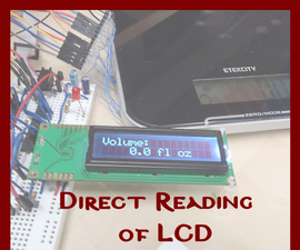 Direct Reading of LCD Using General Purpose IO
