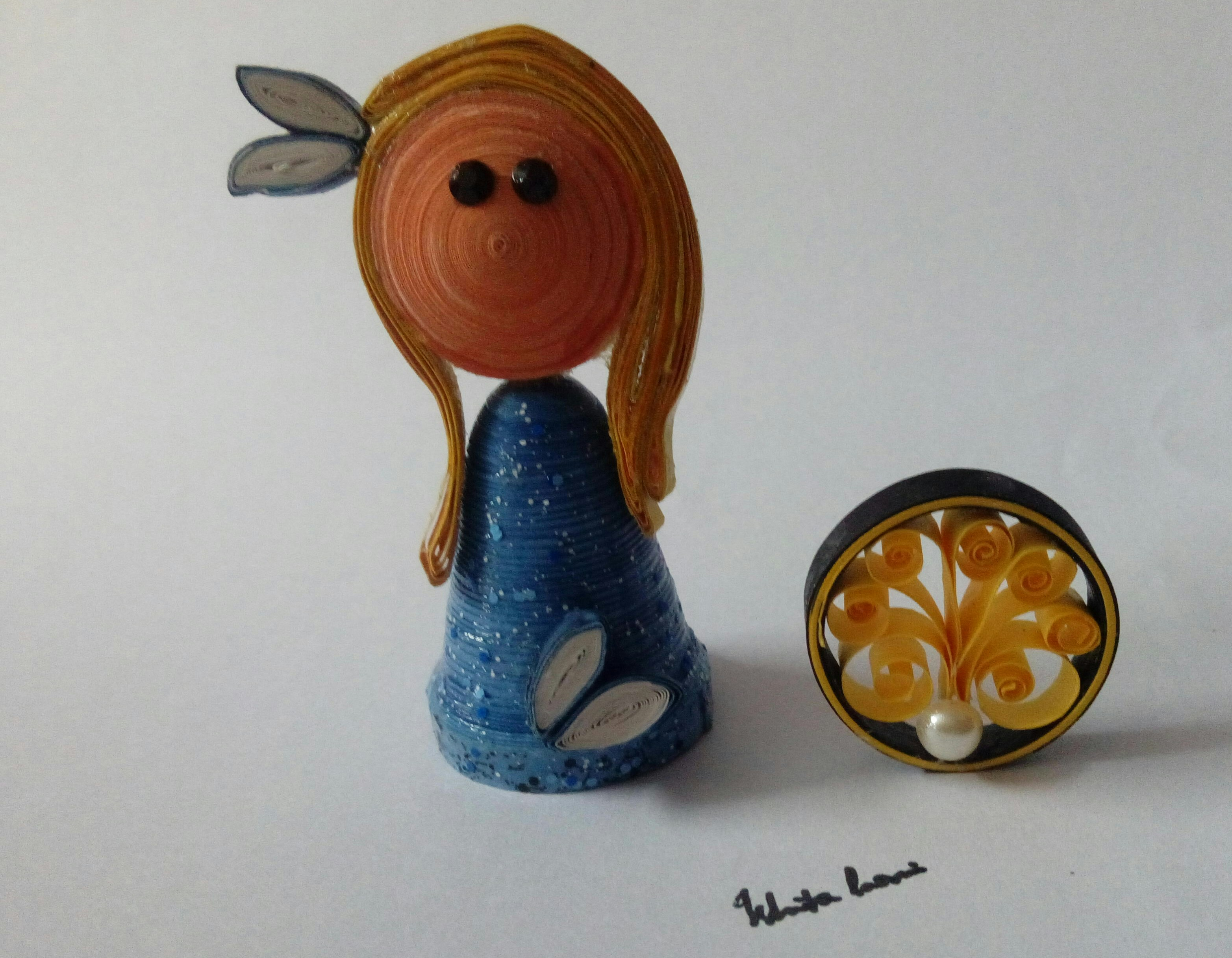 Picture of Cute Quilled Mini Dolls