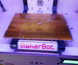 @TechShop MP: Replace the Capton Tape on a Makerbot Replicator