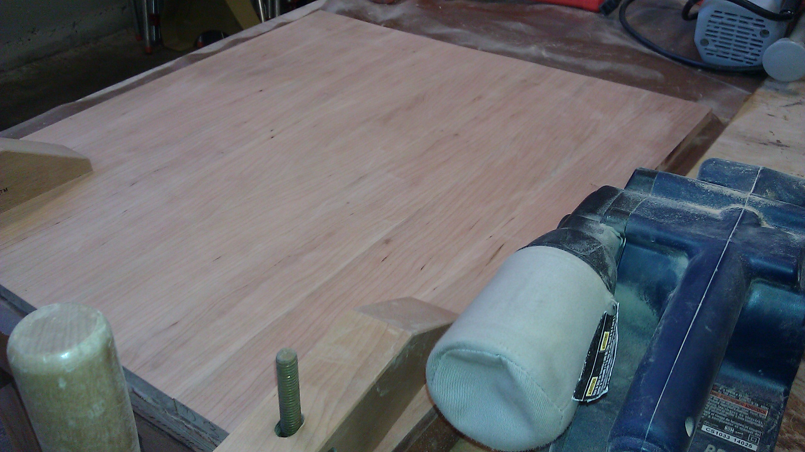 Picture of Final Prep Before Shaping