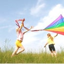 My Teacher told me to go fly a kite, so I did.