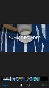 Add Pumice Powder to Kinder Joy Mold