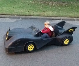 Power Wheels Barbie Jeep to Batman's Batmobile