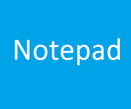 How to create a Notepad in VS C#