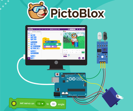 Interface Actuators to Arduino Board Using PictoBlox: Scratch Blocks Based Coding Software