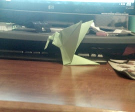 How to Fold a Hummingbird(can flap)