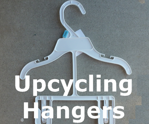 Upcycling Toddler Clothes Hangers
