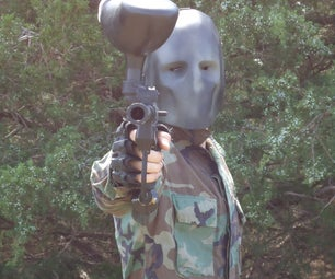 Army of Two Paintball Mask