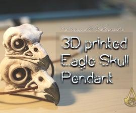 Assassin's Creed Origin Eagle Skull Pendant
