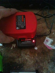 Insert Resistor Into Charger Base and Close