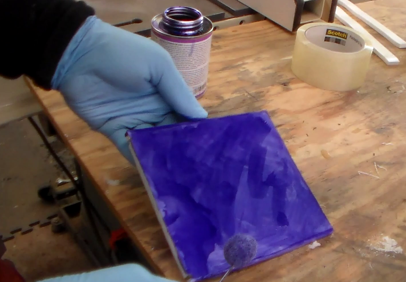 Picture of Dyeing PVC