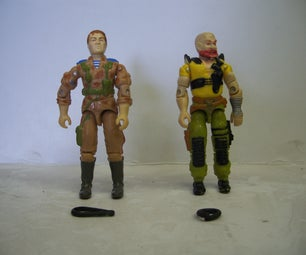 G.I.JOE Repair 1980's Vintage-Rubber Band Replacement