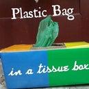 Plastic Bag in a Tissue Box